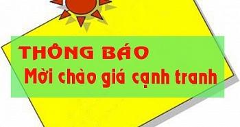 Thông báo về việc mời chào giá cạnh tranh dịch vụ tư vấn Báo cáo kinh tế - kỹ thuật lắp đặt hệ thống rửa xe tự động tại cổng ra vào nhà máy xi măng Hạ Long.