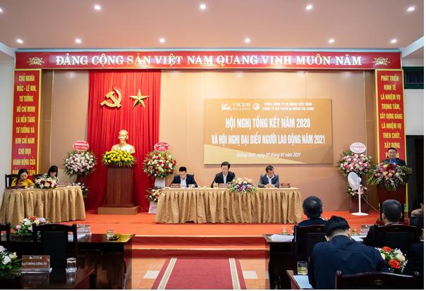 VICEM Hạ Long Tổng kết năm 2020 & Hội nghị người lao động công ty năm 2021